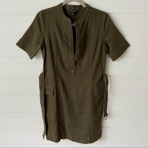 Banana Republic Cotton Shirt Dress size 0
